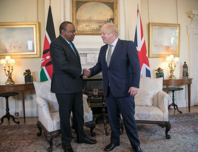 President Uhuru Kenyatta British Prime Minister Boris Johnson - The Exchange