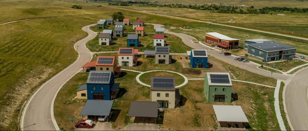 Thunder Valley Community Drone Photo
