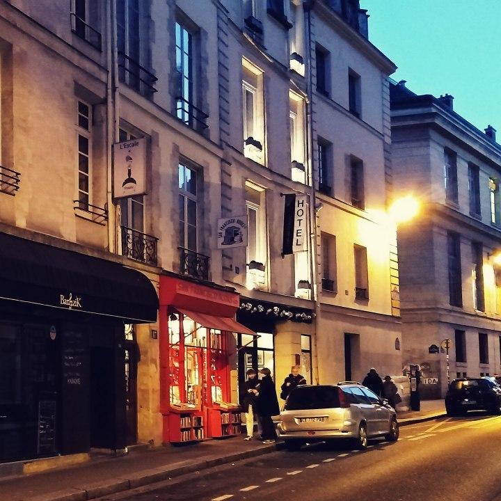 Winter in Paris | Night