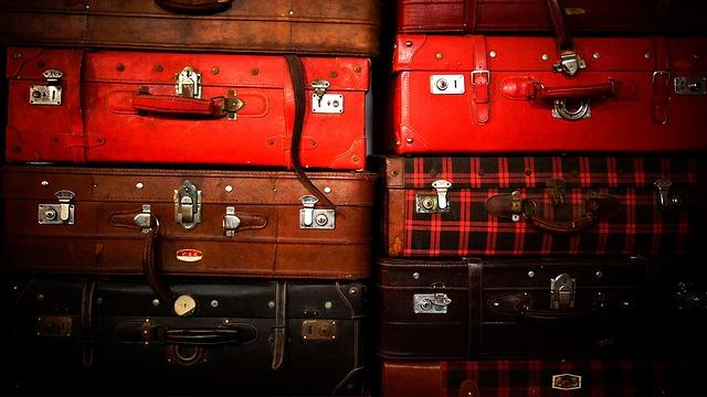 luxury luggage photo