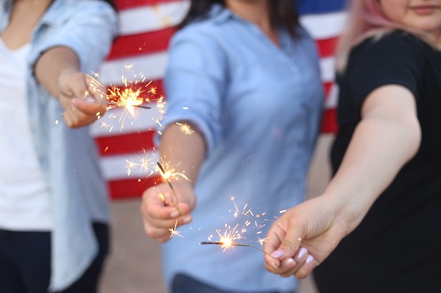 american party photo