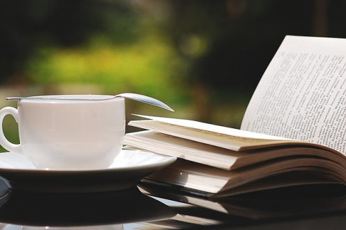 book tea photo