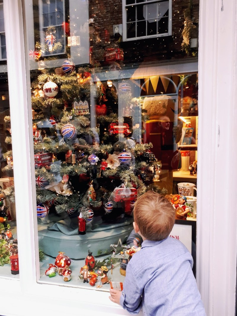 luxury Christmas decorations in York