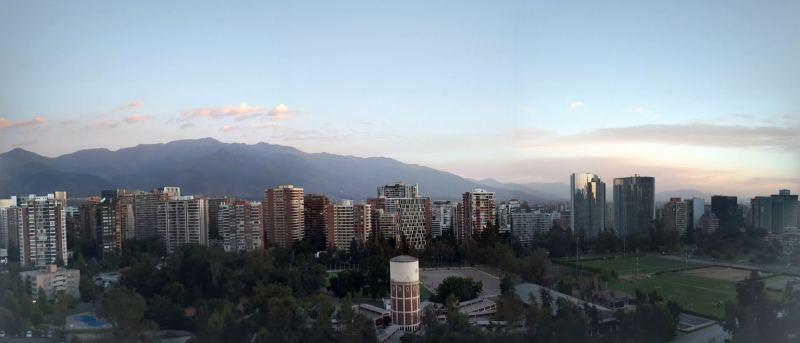 Las Condes Santiago apartment view