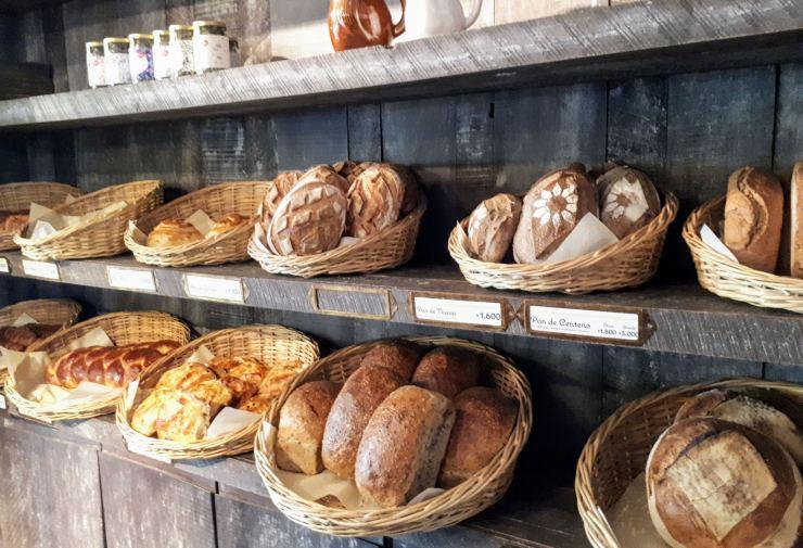 french bread in santiago