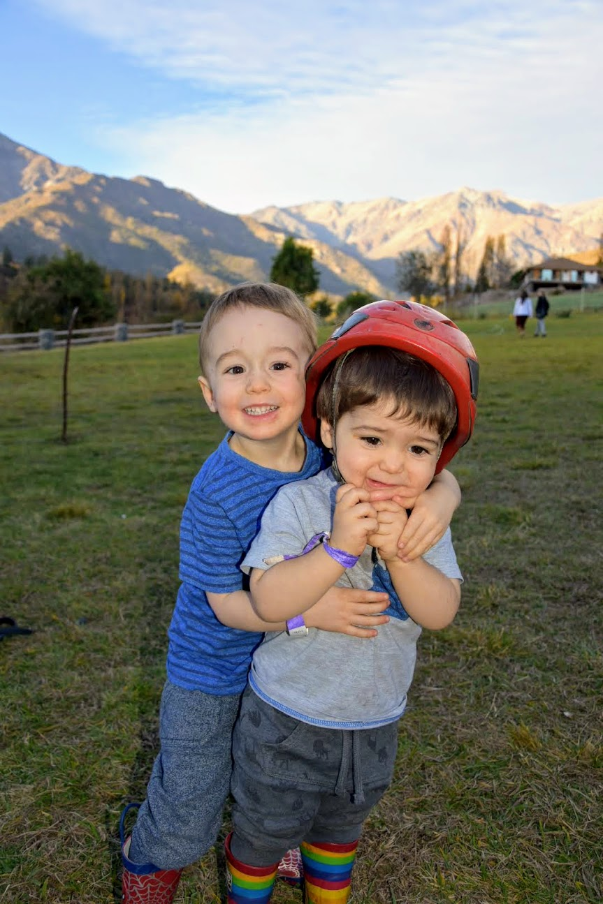 My expat kids love horse riding!