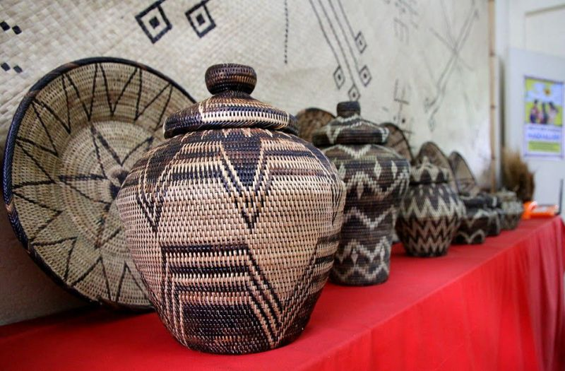 Nito baskets, Philippines