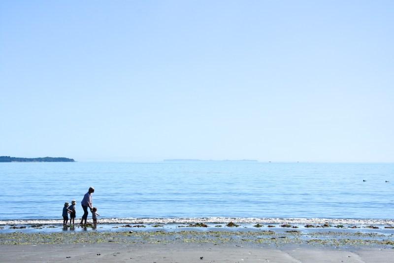 Lechagua beach near Ancud
