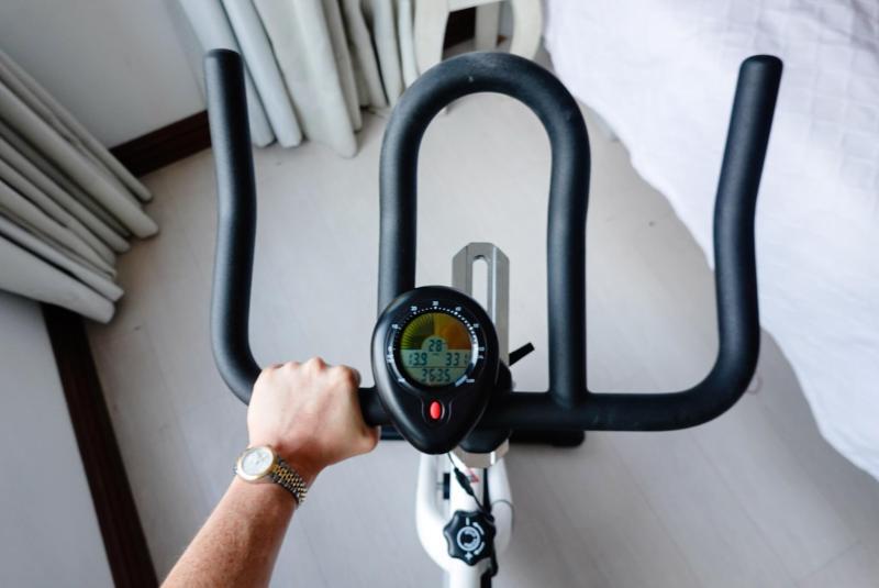 spin bike choronmeter