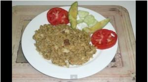 Panamanian Arroz Con Bacalao (Cod Fish Rice) (VIDEO)
