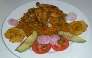 Arroz Con Pollo, Chicken with Rice, Panama, Panamanian