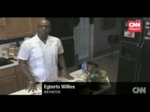 iReporters featured cooking on their CNN networks
