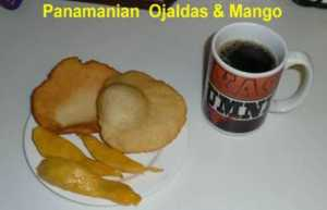 Making Panamanian Ojaldas – Fried Bread (VIDEO)