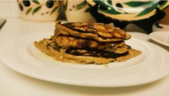 Peanut Butter Banana Pancake