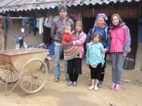 Host family in Vietnam