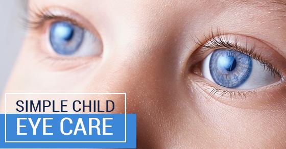 Simple Child Eye Care