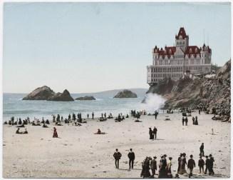 the cliff house - san francisco - 1902