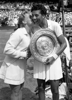 EOF TENNIS- Althea_Gibson_Wimbledon