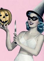 eof- halloween pin up