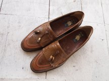 The Eye of FAITH Vintage- GUCCI Cruise 2017 Inspiration- Brown Leather Playboy Loafer - Size 9.5