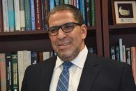 Interim president Mohamed Lachemi. PHOTO: Sierra Bein