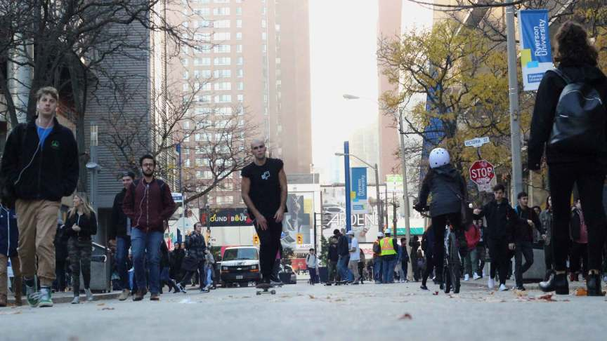 Controversial protesters have sparked an idea to take control of Gould St. PHOTO: IZABELLA BALCERZAK