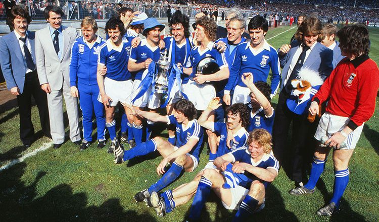 Ipswich Town's victory in 1978 was an early achievement in the career of legendary manager Sir Bobby Robson.