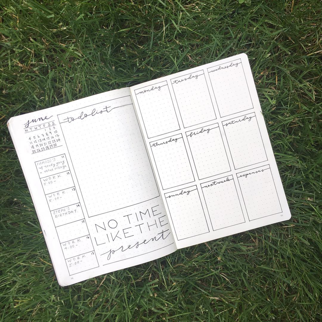 30 Amazing Bullet Journal Weekly Spreads You Ll Want To