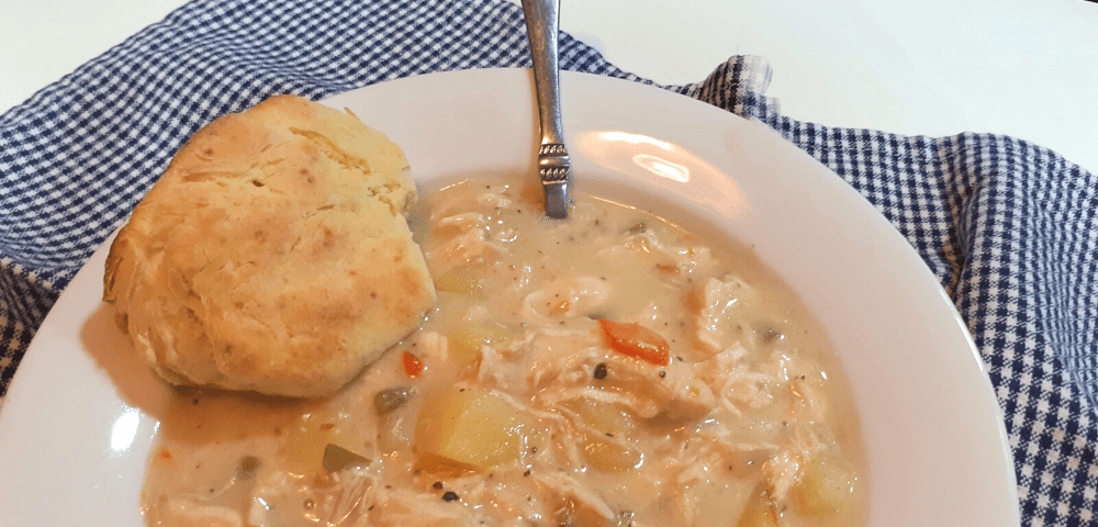Chicken Pot Pie Soup Instapot Recipe
