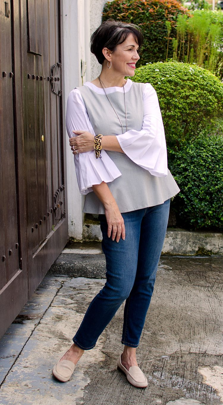 layered blouses