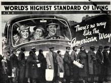 The American Dream - representative of capitalist hegemony