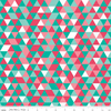 Triangles in Pink and Teal