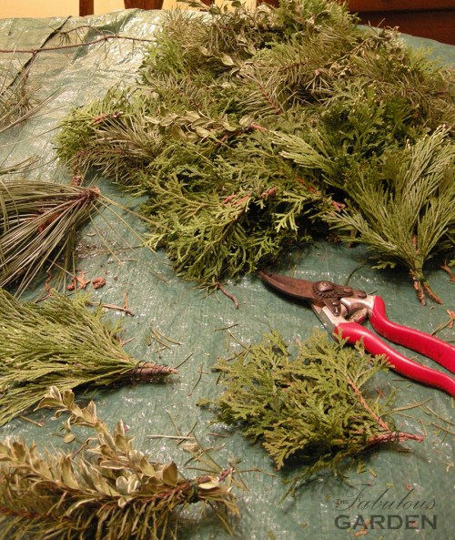 wreath making materials