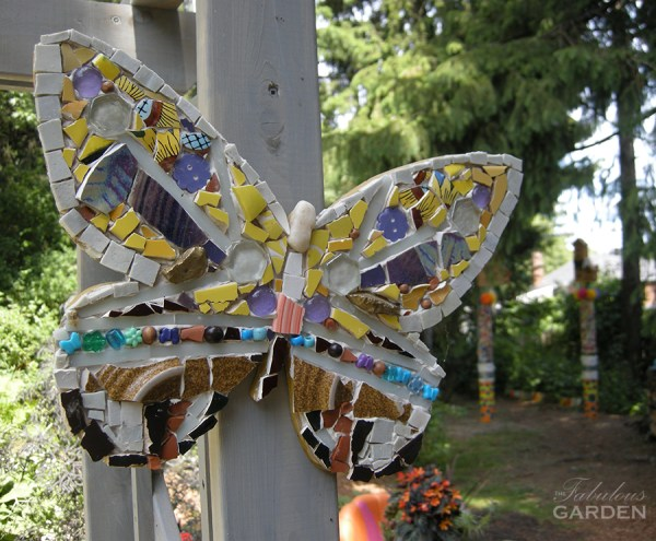 Butterfly mosaic