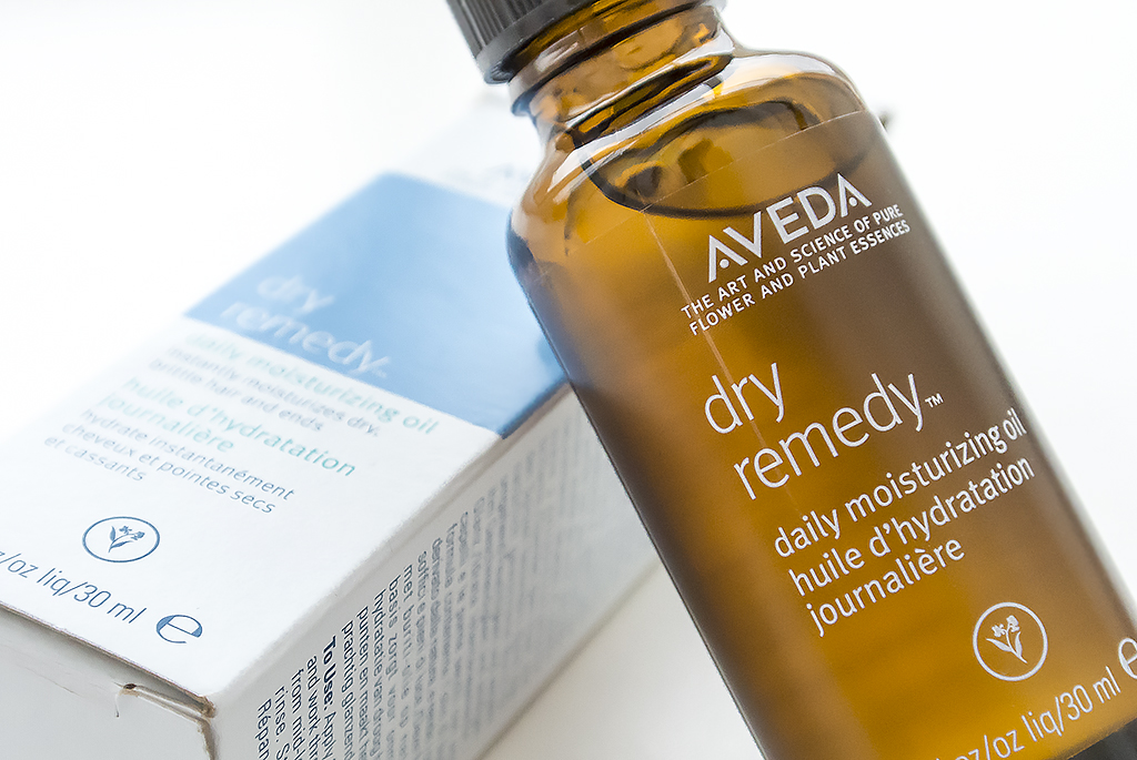 Show Your Hair Some Love Try Avedas Dry Remedy Oil The