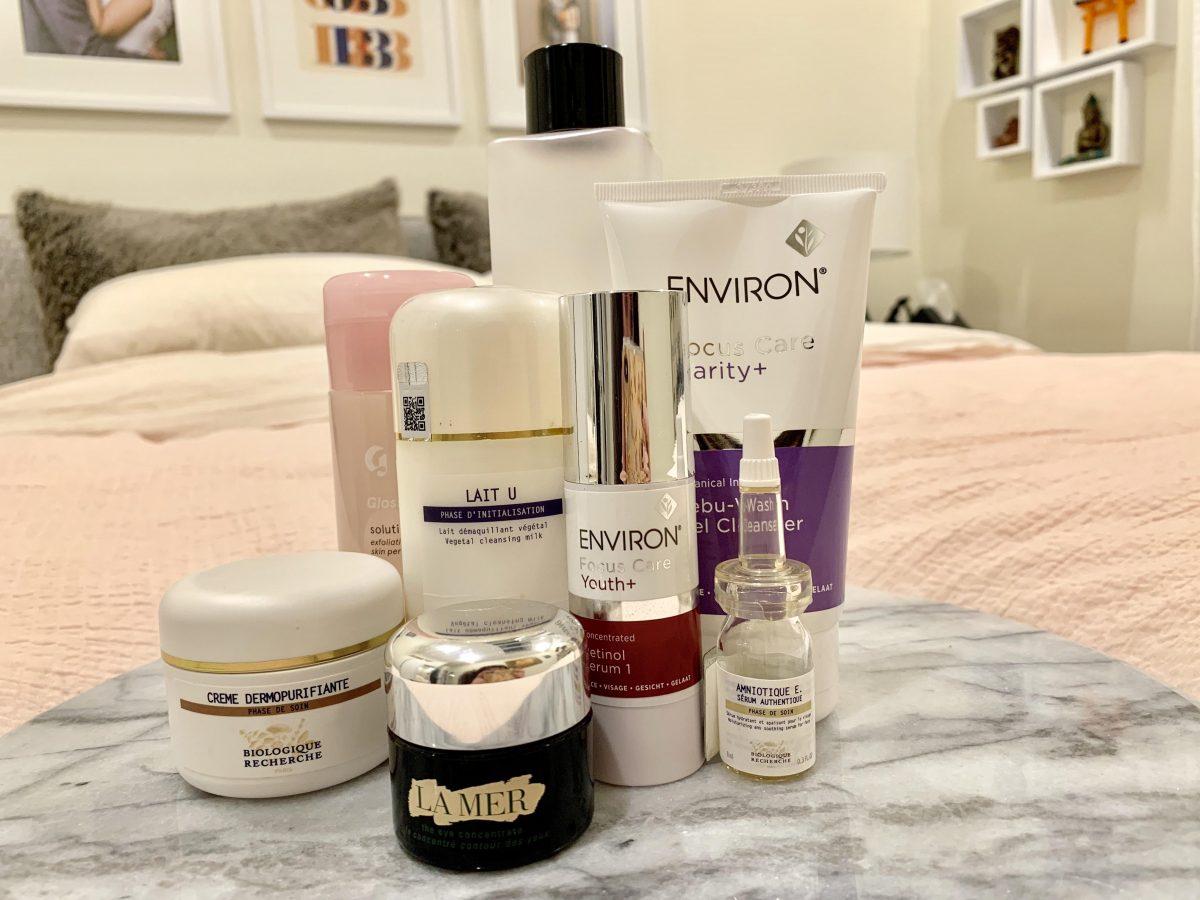 My Anti-Aging Nighttime Skincare Routine