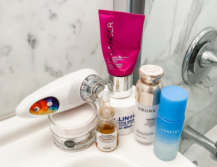 My Top Skincare Products for a Pick-me-up