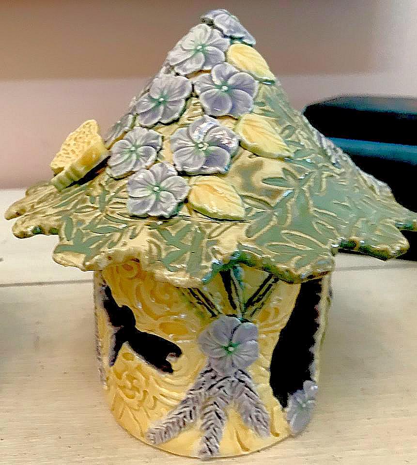 Pansy Fairy House 2019