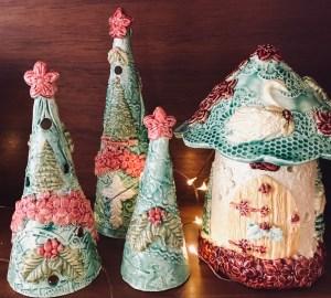 Christmas Fairy Houses for Sale