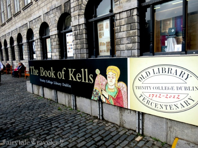The Old library at Trinity College in Dublin where the Book of Kells Exhibit permanently lives by Christa Thompson 2013