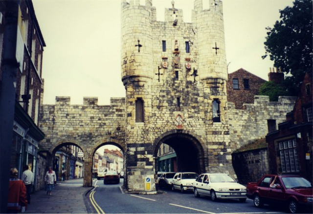 The Micklegate Bar in York looks like something from an ever after story.