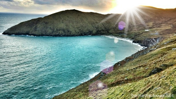 I honestly never knew the water could be so blue in this part of the world. Keem Bay, Achill Island.
