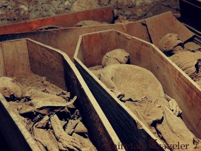 Mummies in the crypts at St. Michan's Church in Dublin are believed to have inspired Bram Stoker. By Chirsta Thompson 2013