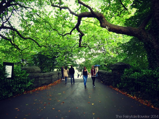 St. Stephen's Green in Dublin by Christa Thompson