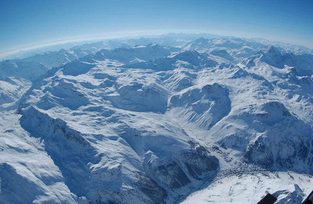The Val d'Isere region of southeastern France. Talk about hitting the slopes!