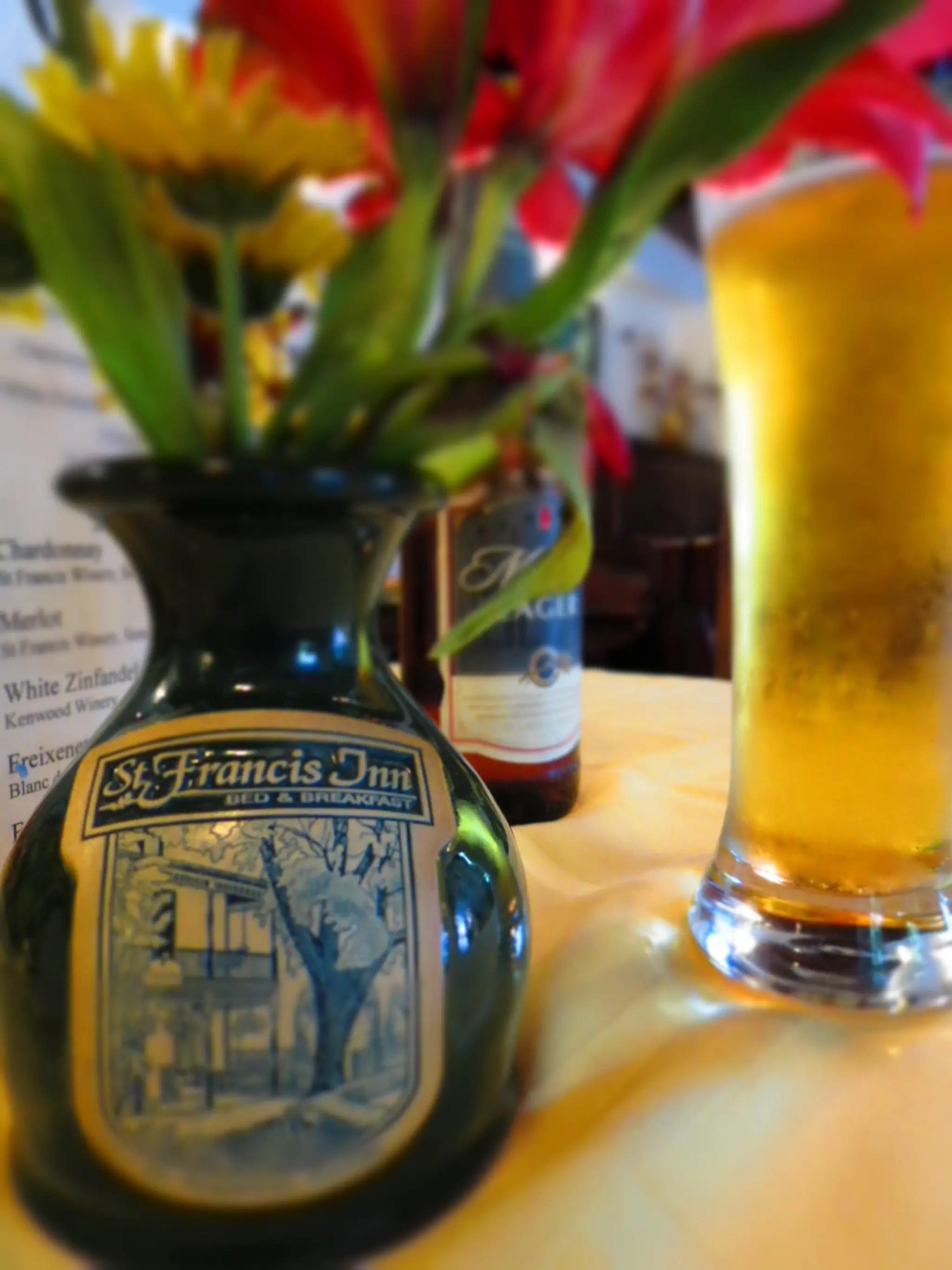 st francis inn tablescape