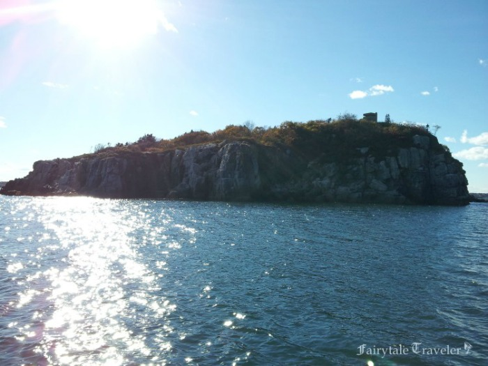 One of the many Islands in Casco Bay by Christa Thompson