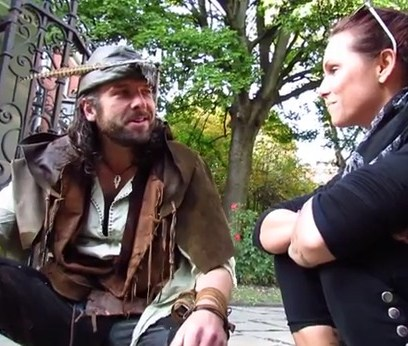 With Robin Hood in Nottingham