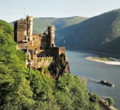 Rheinstein Castle, Rhine River sites,