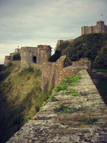 Dover Castle Wall